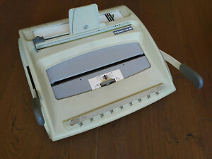 Fellowes Manual Office Metal Wire Binder Binding Machine Wb400 Made In France