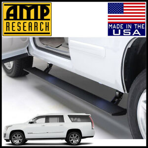 Amp Research Powerstep Electric Running Boards Fit 2015 20 Cadillac Escalade Esv