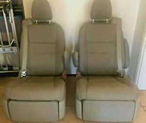 Toyota Sienna 2020 Recliner Taken Out From Handicapped Conversion