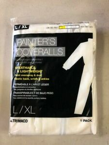 Trimaco L xl Polypropylene Paint Protective Coveralls Pack Of 6