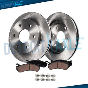 Front Disc Brake Rotors Ceramic Pads For 2000 2005 2006 Toyota Tundra Sequoia