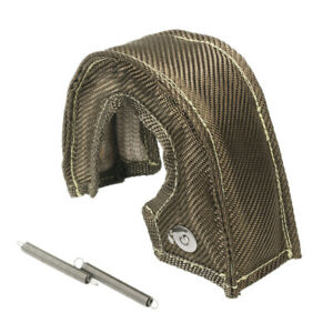 Titanium Turbo Small Blanket Heat Shield Cover For T25 T28 Gt25 Gt28 Ct26 Spring