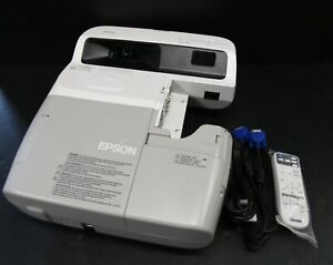 Epson Eb 440w Short Throw Projector Projects A Good Image 2889 Lamp Hours