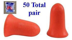 Howard Leight Max 1 Uncorded Foam Earplug 50 Total Pairs Free Shipping