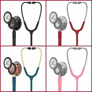 Colors 3m Littmann Classic Iii Monitoring Stethoscope Black Edition Chestpiece