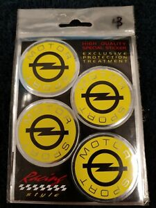 2d Sticker Opel Sport Car 47mm Dia Round High Quality Italian Made Vinyl