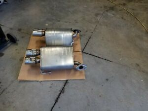 Subaru Wrx Sti 2015 2016 2017 2018 2019 Oem Stock Exhaust Mufflers Left Right