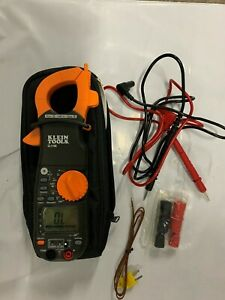 Klein Tools 400a Ac Clamp W temperature Non Contact Voltage Tester Cl1100