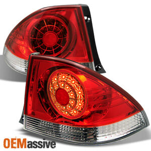 Fits 2001 2005 Lexus Is300 Altezza Rs200 Jdm Red Led Tail Brake Lights Lh rh Set