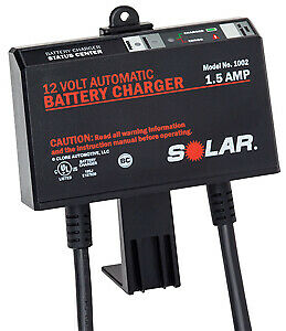 Clore Automotive Llc 1002 Solar 1 5 Amp 12v Automatic Underhood Battery Charge