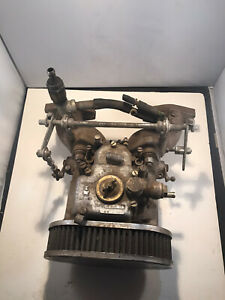 Mga Mgb Weber 45 Carburetor With Intake