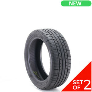 Set Of 2 New 215 45r17 Michelin Premier A S 87h 8 5 32