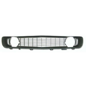 Camaro Center Grille Black For Cars With Standard Trim non rally Sport 1969