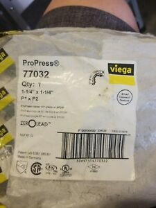 Viega Propress Fittings Lot 1 1 4 P X P 90
