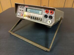Keithley 197 True Rms Autoranging Microvolt Dmm Digital Multimeter Tested