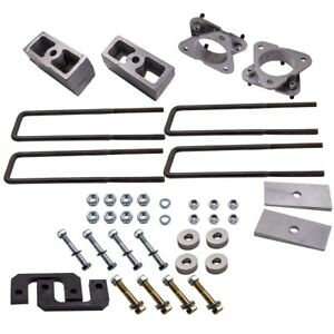3 5 Front 3 Inch Rear Leveling Lift Kit Fit Chevy Silverado 1500 2009 2013 4x4