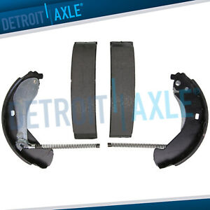 Rear Ceramic Brake Shoes For 2005 2008 Chevrolet Gmc Silverado Sierra 1500