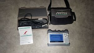 Anritsu S331l Sitemaster With Battery Charger Bag And Extras