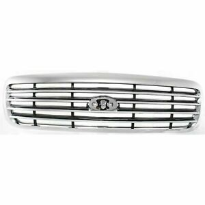 New Grille Chrome Fits Ford Crown Victoria 1998 2011 Fo1200346 6w7z8200ba