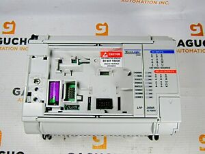 Allen Bradley 1764 24bwa b 1764 lrp Micrologix 1500 With Lrp