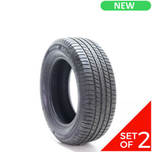 Set Of 2 New 245 60r17 Michelin Energy Lx4 108t 10 5 32