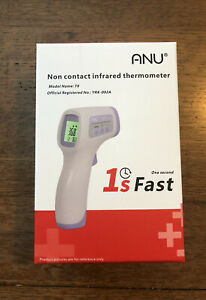 Anu Non contact Lcd Digital Body Forehead Gun Baby adults Thermometer