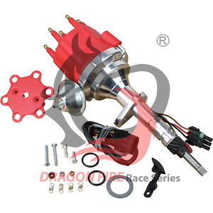 Billet Ready to run Electronic Distributor Chevy Inline 6 V6 194 235 261 270 322