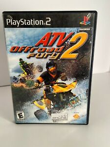 ATV Offroad Fury 2 (Sony PlayStation 2  2002) PS2 Game & Manual Complete