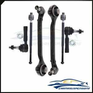 6pc Lower Control Arm Inner Outer Tie Rods Parts Fits 2005 2010 Chrysler 300 Rwd