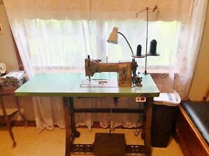 Pfaff 145 H4 Walking Foot 1 needle Lockstitch Reverse Industrial Sewing Machine