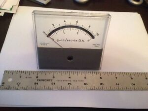 Unholtz Dickie Honeywell Panel Meter G s In Sec D a Used