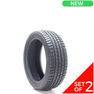 Set Of 2 New 215 45r17 Michelin Pilot Sport A S 3 Plus 87v 9 5 32