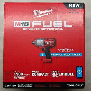 Milwaukee 2864 20 M18 3 4 High Torque Impact W Friction Ring New In Box 2 Day