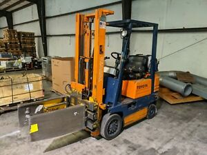 Toyota Lp Forklift W Clamp