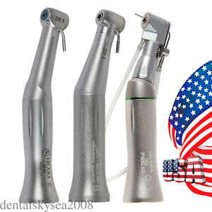 Dental 20 1 Implant Handpiece Contra Angle Fit Implant Drill Latch push Chuck