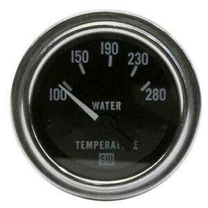 New Stewart Warner 82307 Deluxe Electric Water Temp Gauge