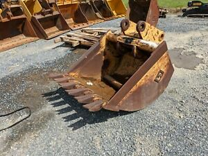 Balderson 36 Bucket And Coupler Case Cat Deere Hitachi Volvo Jcb