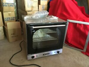 adcraft Coh 2670w Convection Oven Countertop Half size Pizza Oven 220v W legs