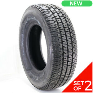 Set Of 2 New Lt 265 70r17 Michelin Ltx At2 121 118r 15 5 32