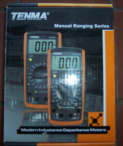 Brand New Multimeter W Probes Tenma 72 8155 Lcr Meter With Hfe Transistor