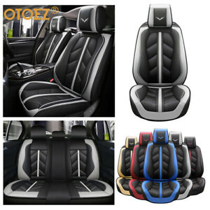 Otoez Luxury Car Seat Covers Full Set Front Back Cushion Protector Universal Fit