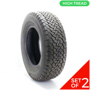 Set Of 2 Used Lt 265 70r17 Bfgoodrich Rugged Trail T A 121 118r 14 32