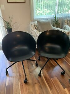 2 Hay Black About A Chair Designer Contemporary Home Office Business Chairs