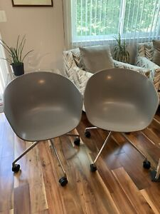 2 Hay Gray About A Chair Designer Contemporary Home Office Business Chairs