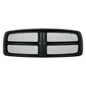 New Black Honeycomb Grille For 2002 2005 Dodge Ram Ch1200331 Ships Today
