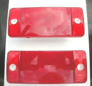 1970 1971 1972 70 71 72 Ford Truck F 100 F250 Rear Red Side Marker Light Lens