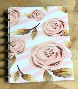 Pink And Gold Roses Cover Set 4 Use W The Happy Planner