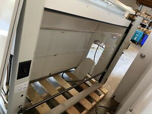 6 Fisher Hamilton Inc Chemical Fume Hood With Base Cabinet