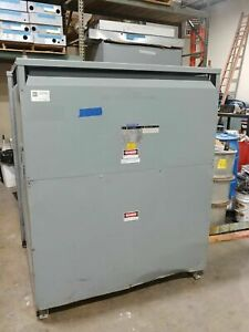 Square D 300 Kva Transformer 3ph 480 To 208y 120