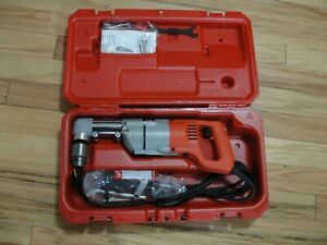 Milwaukee 3002 1 1 2 Right Angle Drill New Open Box